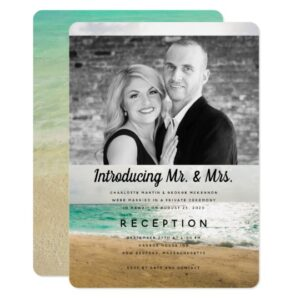 Private Wedding, Reception Only Invitations