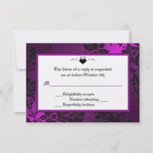 Assorted Gothic Wedding Designs