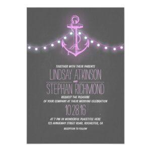 Rustic Anchor Nautical Wedding Collection