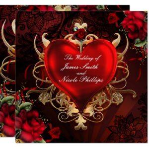 Gothic Love Heart