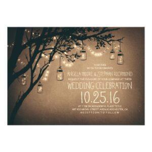 Mason Jar String Lights Romance Wedding Collection