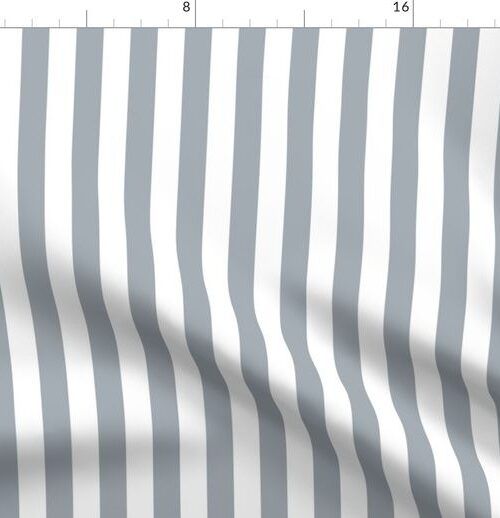 Grey Mist Wide Stripes