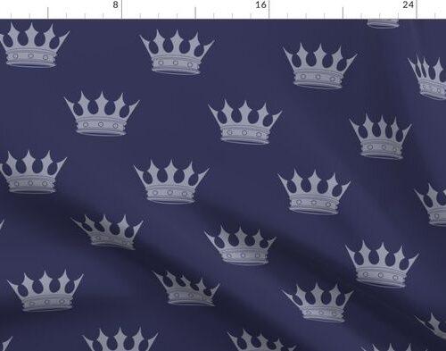 Royal Blue on Blue Crowns