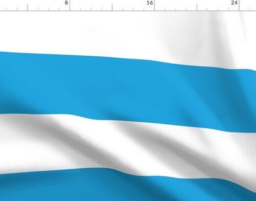 Oktoberfest Bavarian Blue and White Large Cabana Stripes