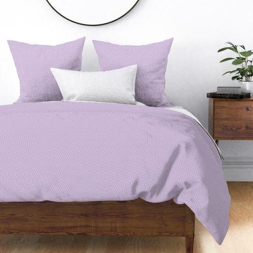 Lilac Pastel Easter Eggs Duvet Cover