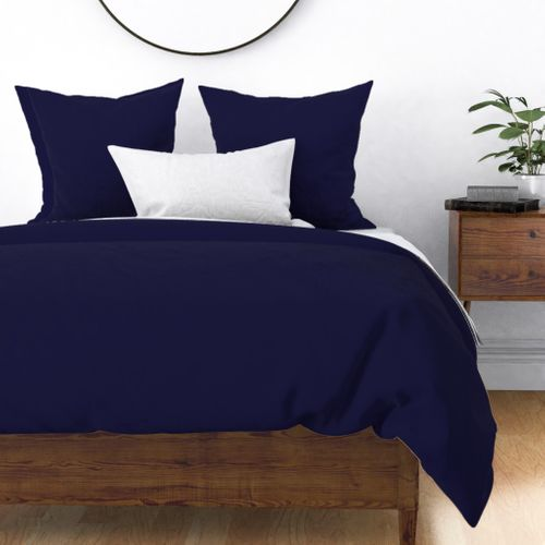 Blue Yacht Solid Summer Party Color Duvet Cover